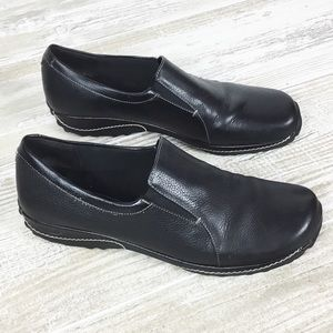 Bass Leather Comfy Slip On Loafer Shoes